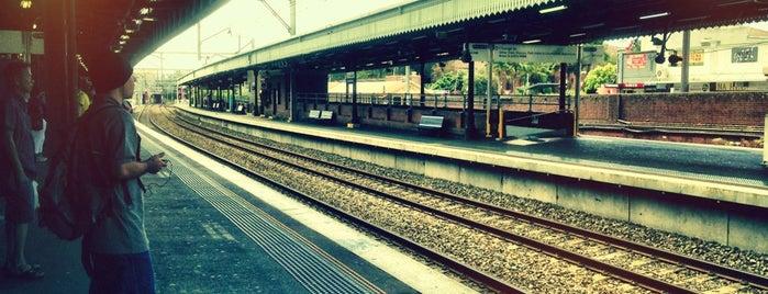 Platforms 3 & 4 is one of Sydney.