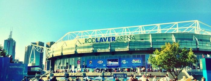 Rod Laver Arena is one of 'Stadium Talk'....