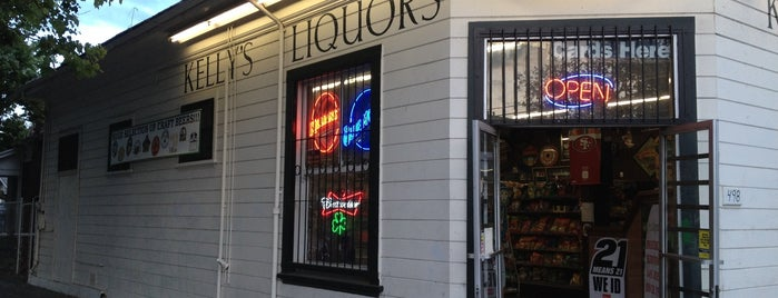 Kelly's Liquor Store is one of San Jose.
