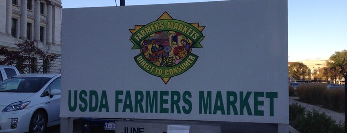 USDA Farmers' Market is one of Washington, DC.