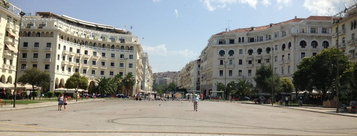 Aristotelous Square is one of Thessaloniki #4sqCities.