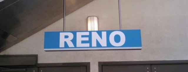 Reno Amtrak (RNO) is one of JJ : понравившиеся места.