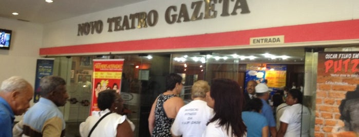 Teatro Gazeta is one of Locais salvos de Fabio.