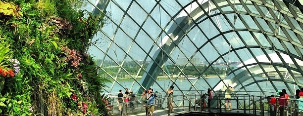 Flower Dome is one of Singapore.