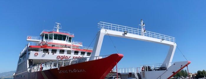 Thassos-Keramoti Ferry is one of Eser Ozan'ın Beğendiği Mekanlar.