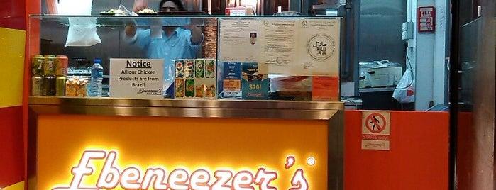 Ebeneezer's Kebabs & Pizzeria is one of สถานที่ที่บันทึกไว้ของ Aishah.