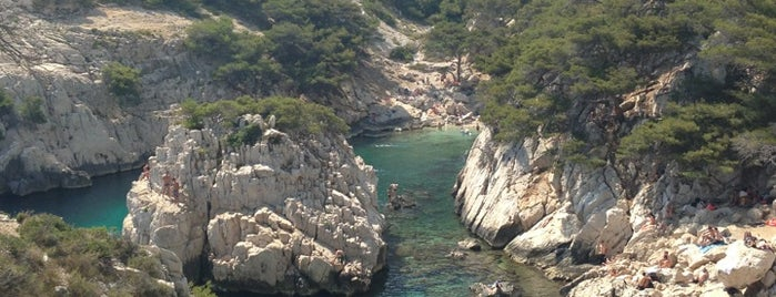 Calanque de Sugiton is one of Les Callangues.