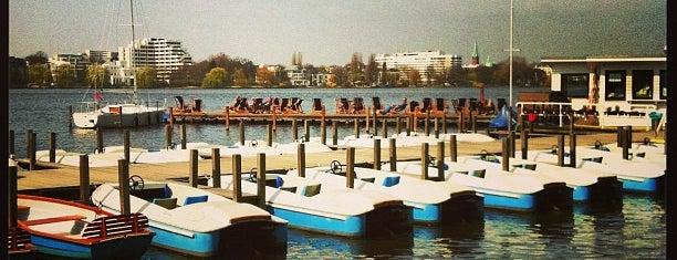 barca - an der Alster is one of Locais curtidos por Jana.