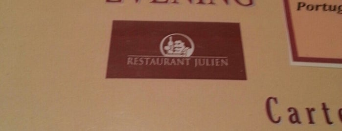 Restaurant Julien is one of Foodie love.