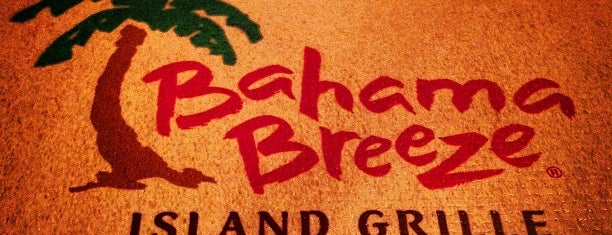 Bahama Breeze is one of Been There, Ate It.