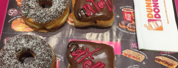Dunkin' Donuts | დანკინ' დონატსი is one of Taia 님이 좋아한 장소.
