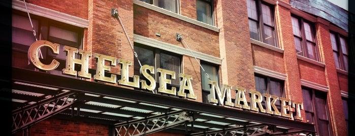 Chelsea Market is one of Manhattan Favorites.