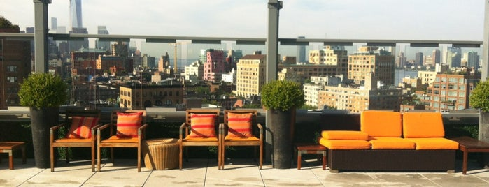 Plunge Rooftop Bar & Lounge is one of The Best Things to do in New York in the Summer.
