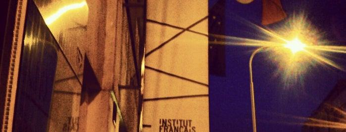 Francouzský institut v Praze | Institut Français de Prague is one of Přaha (mylovanā) ♥️.