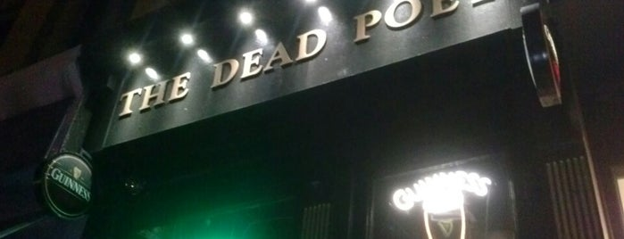 The Dead Poet is one of Manhattan bars.