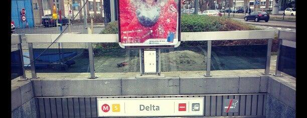Delta (MIVB) is one of Hideo : понравившиеся места.