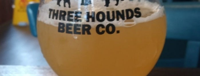 Three Hounds Beer Company is one of London's Best for Beer.