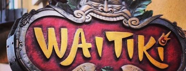 WaiTiki Retro Tiki Lounge is one of Lugares guardados de Cris.