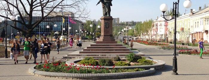 Памятник Графу Воронцову is one of Лучший Бердянск - проект Berdyansk.Best.