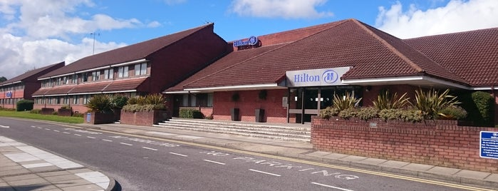 Hilton Basingstoke is one of Sandy : понравившиеся места.