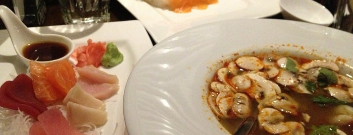 Lim's Thai & Sushi Restaurant is one of Providence.