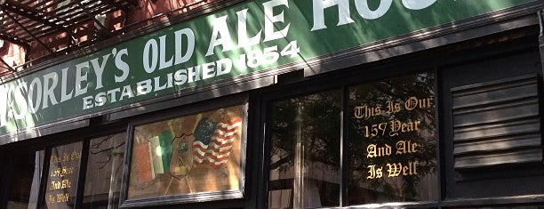 McSorley's Old Ale House is one of To Try With Ceci.