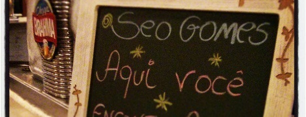 Seo Gomes is one of Restaurantes Vila Olimpia.