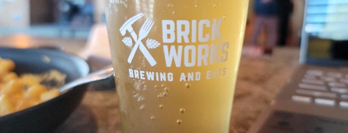 Brick Works Brewing and Eats is one of Breweries Visited.