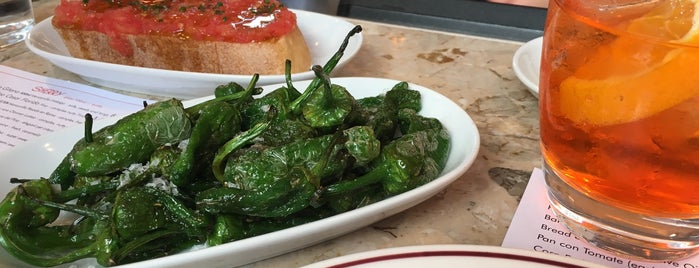 Barrafina is one of London Favourites.