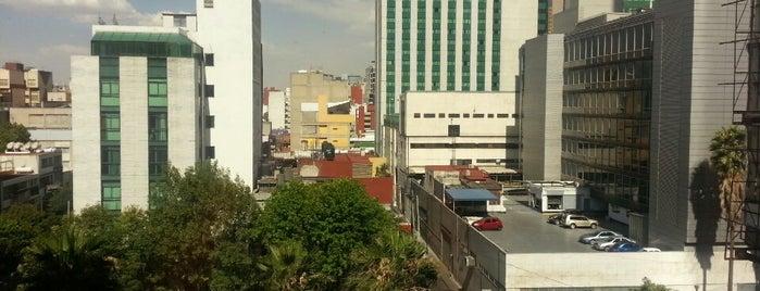 Hotel Del Ángel is one of สถานที่ที่ Addie ถูกใจ.