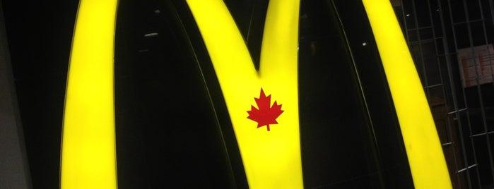 McDonald's is one of British Columbia.