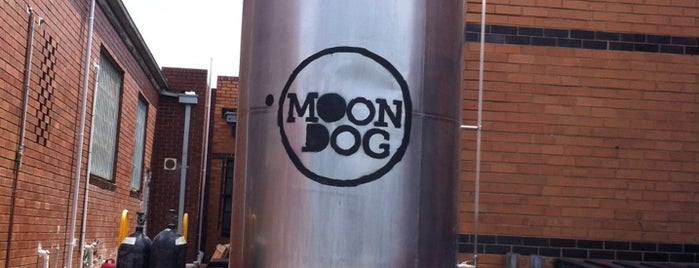 Moon Dog Brewery is one of Snarkle's Ace Bits of Melbourne.