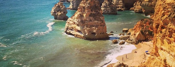Praia da Marinha is one of Lizbon-Porto.