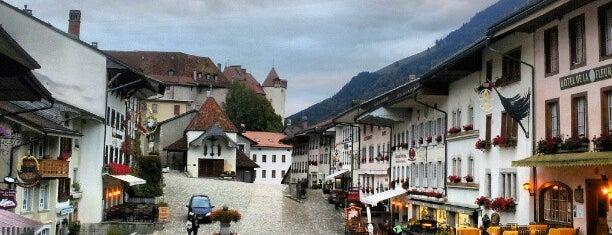 Gruyères is one of Suisse.