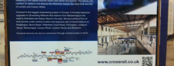 Paddington Crossrail is one of TFL Elizabeth Line Stations.