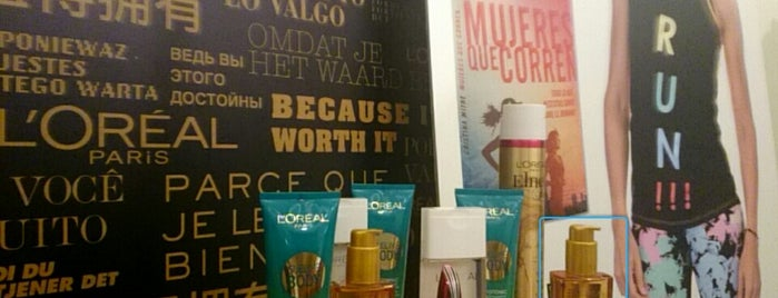 L'Oreal Paris is one of Madrid.