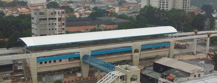 Estação Oratório (Monotrilho) is one of Frederico 님이 좋아한 장소.