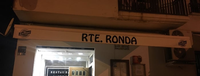 Restaurante Ronda is one of Tempat yang Disukai Antonio.