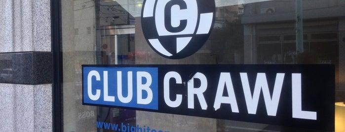 渋谷CLUB CRAWL is one of 東京ココに行く! Vol.43.