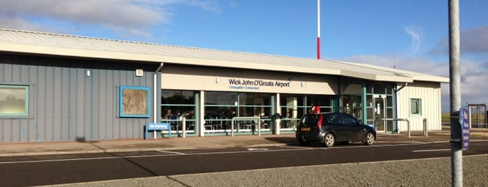 Wick John O'Groats Airport (WIC) is one of visited airports.