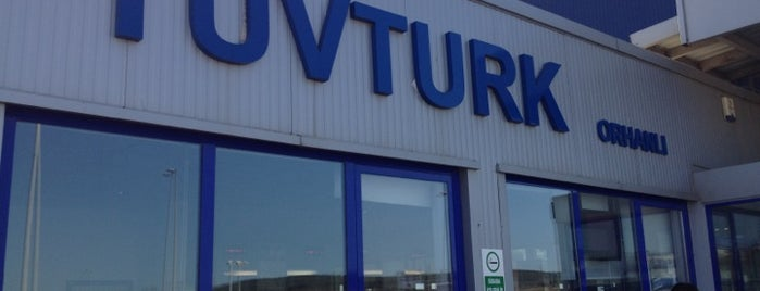 TÜVTÜRK Araç Muayene İstasyonu is one of Lieux qui ont plu à Bora.