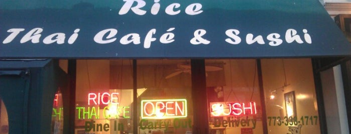 Rice Thai Cafe is one of Restaurants.