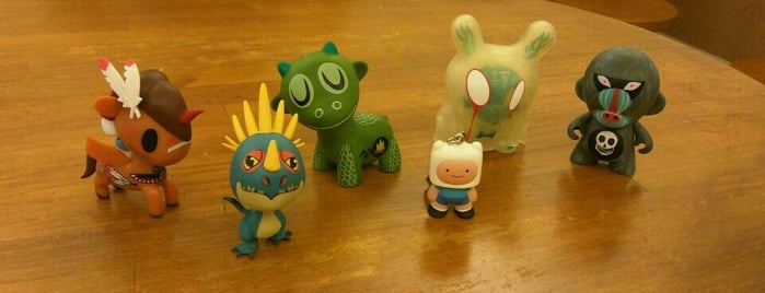 Outland Designer Toy Store & Art Gallery is one of Places I would like to visit in my lifetime.
