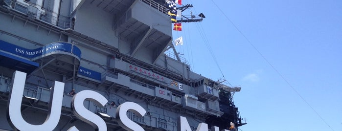 USS Midway Museum is one of ΦIA 82nd National Convention.