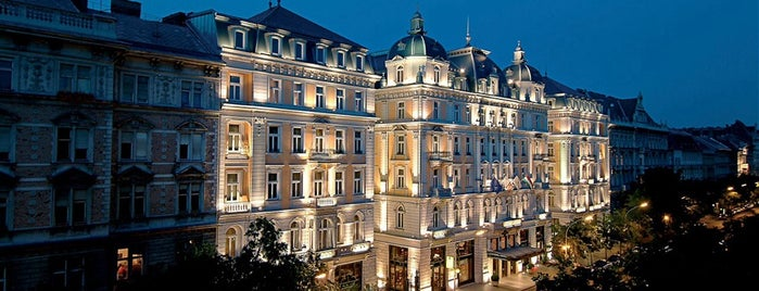 Corinthia Hotel Budapest is one of der unterschlupf.