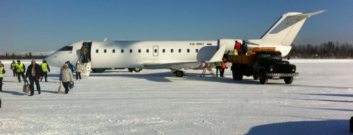 Khibiny Airport (KVK) is one of JRA'nın Kaydettiği Mekanlar.