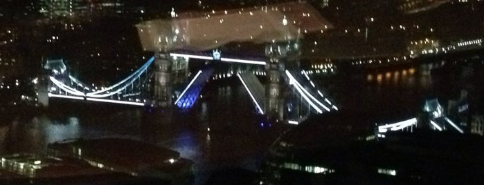 Oblix at The Shard is one of London Scrapbook.