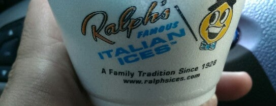 Ralph's Famous Italian Ices is one of Posti che sono piaciuti a Ashley.