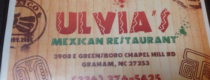 Ulvias Mexican Restaurant is one of Tempat yang Disimpan Brandon.