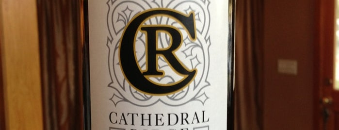 Cathedral Ridge Winery is one of Dundee Hills AVA Wineries.